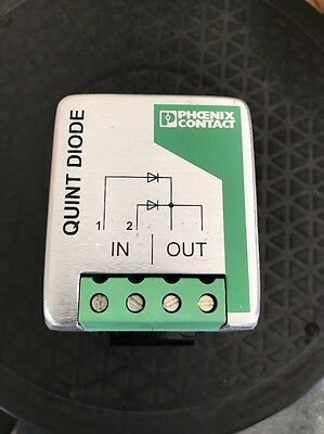Phoenix Contact Quint Diode 28 66 585 48vdc 2 X 20a (40a In Parallel)