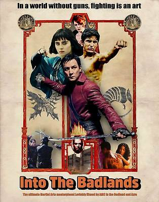 "9650 Hot Movie TV Shows - Into the Badlands 1 10 24""x30"" Poster"