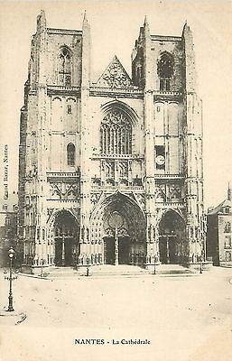 Cp Nantes Cathedrale 13409