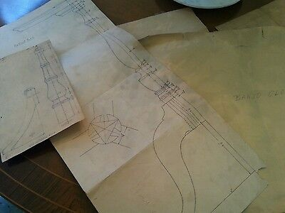 Antique/Vintage Furniture Drawings..Lot of them..old paper