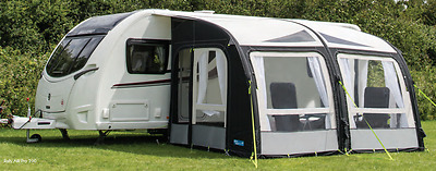 Kampa Rally Air Pro 390 Inflatable Caravan Porch Awning(2017 CLEARANCE STOCK)del
