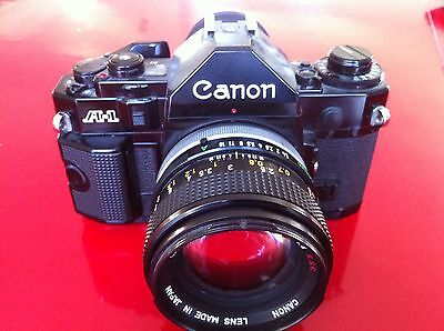 CANON A-1 +objectif 50mm 1:1.4