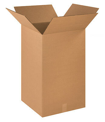 "Box Partners Corrugated Boxes 18"" x 18"" x 30"" Kraft 10/Bundle 181830"
