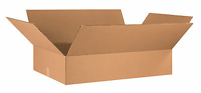 "Box Partners Flat Corrugated Boxes 36"" x 24"" x 8"" Kraft 10/Bundle 36248"