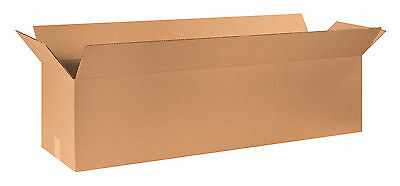 "Box Partners Long Corrugated Boxes 48"" x 12"" x 12"" Kraft 10/Bundle 481212"