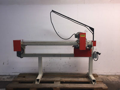 "Unique Machine and Tool Co. Model 42 16"" Diameter Blade 60"" Horizontal Panel Saw"