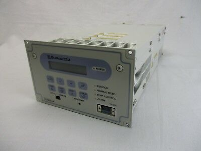 Shimadzu EI-D3203M Turbomolecular Pump Controller 1.2K TMP Turbo Tested Working