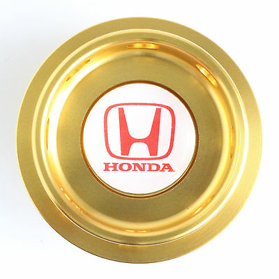 Honda Oil Filler Cap Gold Aluminium S2000 Civic Integra Accord Prelude CRX