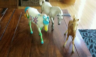 Breyer horses and pony lot of 3 EUC