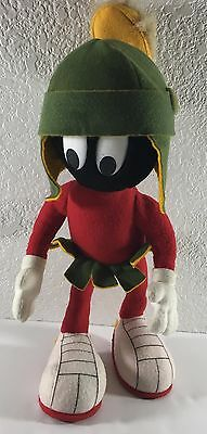 """Marvin the Martian 14"""" Plush Doll 1991 14K Company Warner Brothers"""