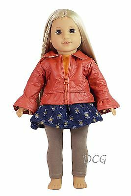 17-19 inch dolls Doll/'s Delight Accessories American Girl size Dress Overcoat