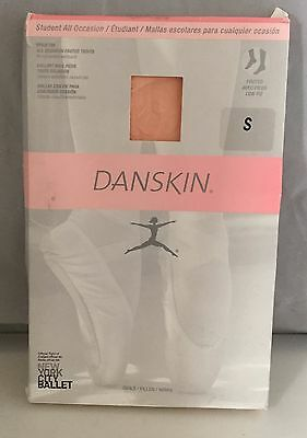 Danskin Little Girls Student Footed Tights Style 703 Ballet  Pink Size Small 4-6