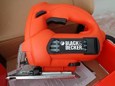 NEW BLACK & DECKER 500W Variable Speed Jigsaw KS888E-XE free blades Free Postage