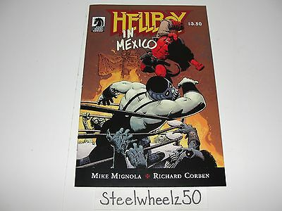 Hellboy In Mexico #1 Comic Dark Horse 2010 Luchador Mike Mignola Richard Corben
