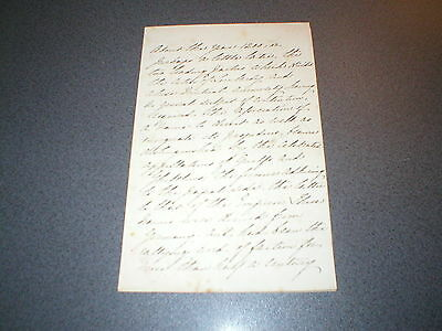Antique Manuscript Letter about King Edward III and year 1200 onwards - 4 pages