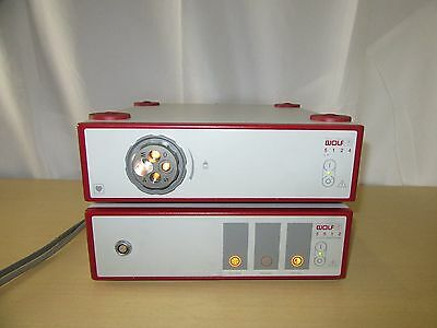 1.Richard Wolf Endo Camera unit,Ref#5512.751/=&1.Light Processor,Ref#5124.012