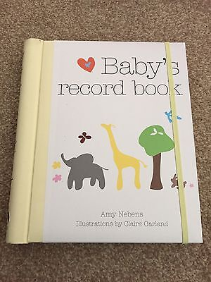 Baby Record Book Neutral