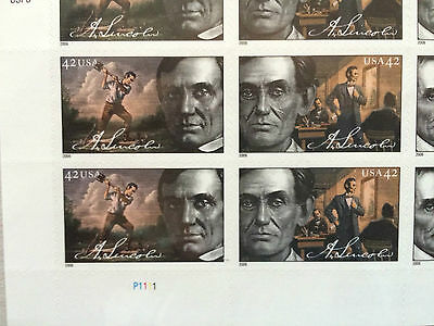 2008 President Lincoln stamps, 20 , #464740, new, collectable stamps
