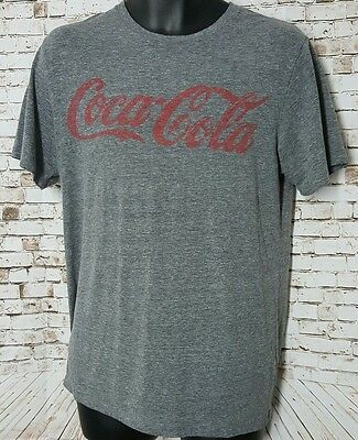 Men's Old Navy Collectibles Coca-Cola T shirt Size Medium Gray Short Sleeve