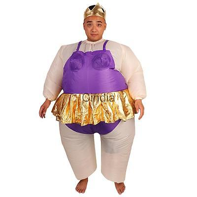 Inflatable Ballerina Fat Suit for Hen Stag Night Party Fancy Dress Costume