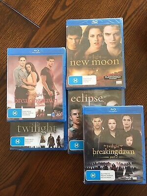 Brand new Twilight series blu ray DVD collection