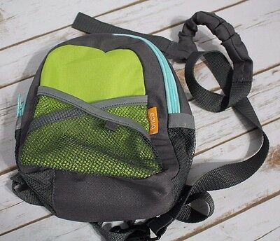 Brica Miniature Toddler Safety By-My-Side Harness Backpack w/ Leash EXCELLENT
