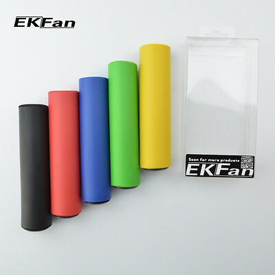 EKFan Grips Silicone Mountain Bike Handlebar Grips Bicycle Antiskid Grip Cover
