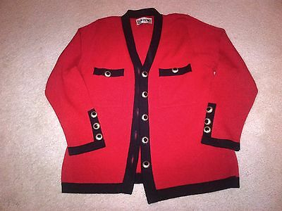 Petit red jacket size M