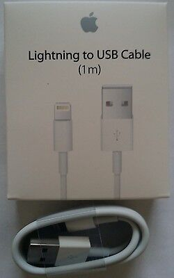 New Genuine Original Apple Lightning to USB Charge Cable for iPhone 6s/Plus/5/SC