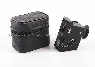 EX Leica Universal Wide-Angle Viewfinder with leather case #HK6834X