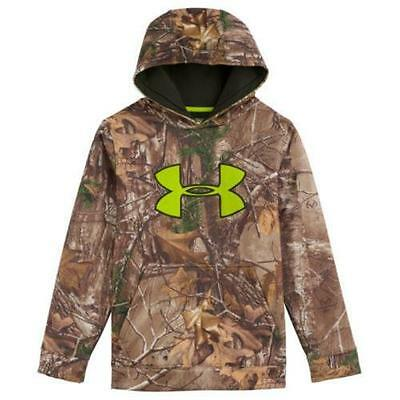 Under Armour Youth Scent Control Hoodie REALTREE XTRA Size XL