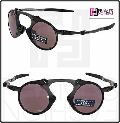 d3f684ba54 Oakley MADMAN Pewter Carbon Sport Prism Daily Polarized Round Sunglasses  OO6019