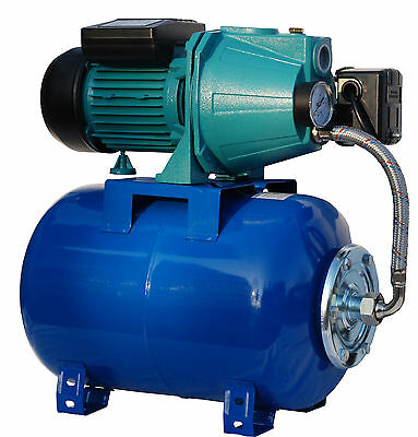 IBO electric centrifugal house water BOOSTER PUMP JET100A+24l PRESSURE VESSEL#CW
