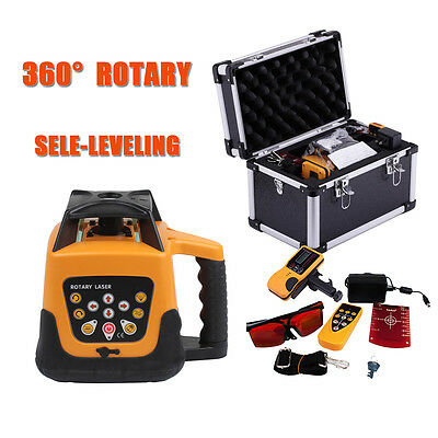 500m Range Self-leveling Laser Level  Rotary Rotating Automatic Red Beam
