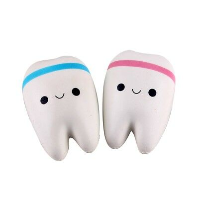 Baby Toys Cartoon Tooth Squishies Pendant Slow Rebound Cell Phone Straps UK