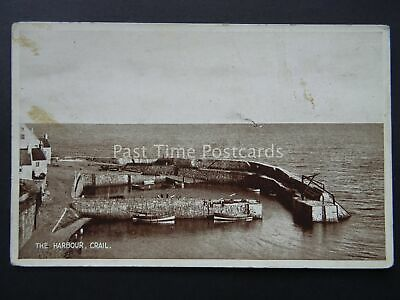 Scotland CRAIL HARBOUR East Neuk of Fife - Old Postcard by Valentine