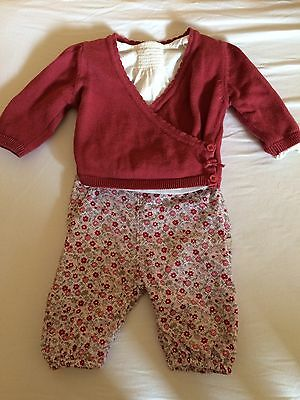 Marks And Spencer Girls Outfit 0-3 Months