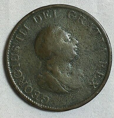 Great Britain 1799 1/2 Penny Coin