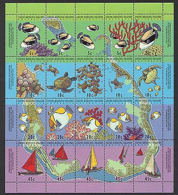 STAMPS  AUSTRALIA COCOS (KEELING) ISLAND 1994 FISH & MARINE LIFE   MNH lot 874xx