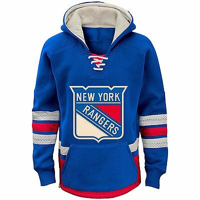 Youths XLarge New York Rangers CCM Retro Skate Hoodie M38