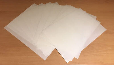 12 A4 sheets THICK white edible CARD wafer/rice paper - good for standup toppers