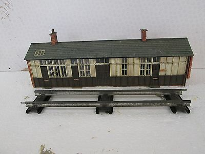0 Gauge Railway Station Building Scratch Built with interior detailing