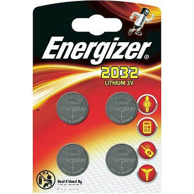 8 x Energizer Batterie CR2032 Lithium 3V Knopfbatterie CR 2032 Battery NEW