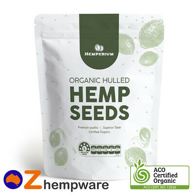 HEMP SEEDS AUSTRALIAN CERTIFIED ORGANIC VEGAN FOOD 250g,500g,1kg,2kg,4kg