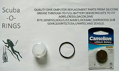 Battery replacement kit suunto vyper air vytec cobra 2 3 zoop novo gekko