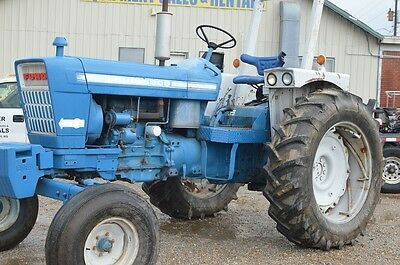 Ford 5000 diesel tractor - triple remotes - Excellent!!