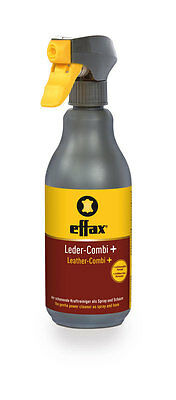 Effax LEATHER COMBI Plus Non Greasy Cleaner Tack Care With Anti Mould 500ml