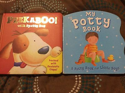 Bundle Baby Books Potty Training And Peek A Boo
