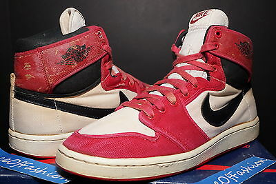 Nike Air Jordan Hi I 1 White Black Red Chicago Ajko Original Og 1985 Royal High