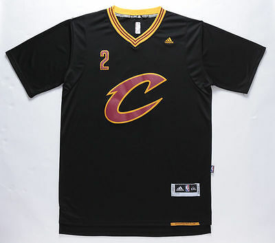 New Cleveland Cavaliers #2 Kyrie Irving Black Basketball Jersey Size: S - XXL